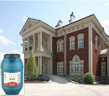 Water base marble stone effect spray paint for exterior wall