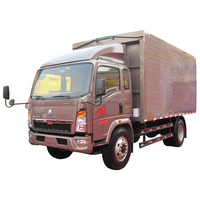 high quality SINOTRUK HOWO Small Cargo Truck to transport for low price sale