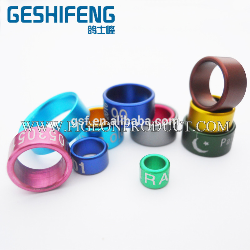 pigeon ring colorful pigeon rings standard misumi guide pillar pin bushing