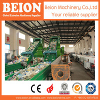BM300 SECURITY WASTE PLASTIC PE FLAKES PE FILM RECYCLE WASHING LINE