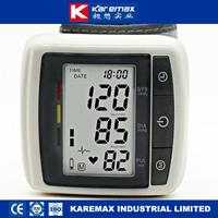 home medical wrist watch blood pressure measuring instruments