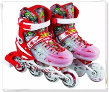 Aluminium Bracket Adjustable ABEC-7 Bearing Flat Roces Inline Skate,skate shoes casual For Kids
