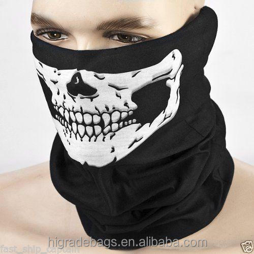 free shipping wholesale Polyester Microfiber Seamless Tube Multifunctional skull Bandana
