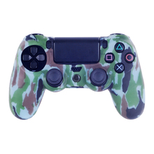 High Quality Silicone Controllers Case Cover for PS4 for Playstation 4 Controller