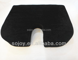 Wedge Seat Cushion with Anti-slip Plastic Drops/Wedge Seat Cushion for Short Drivers