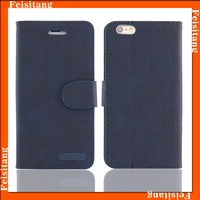 Best for iphone 5 phone case flip wallet case with card slots and phone holder function
