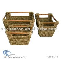 Straw Basket Storage Basket
