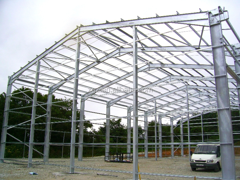 Modular Economical Prefabricated Steel Structure Warehouse