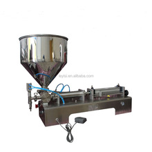 sesame peanut butter / salad jam filling machine/ paste filling machine with mixing hopper