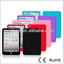 "Bean Soft Shell Silicone back Case Cover for Apple Ipad MINI 7""tablet"
