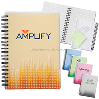 A5 Hot Printing Spiral Notebook With