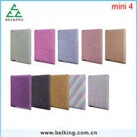 For ipad mini 4 Glitter Powder Body Stickers Case Shockproof Case For iPad Mini 4