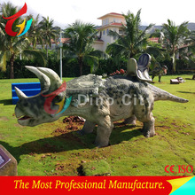 Hot sale amusement park life-size robot ridding dinosaur