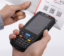 easy carried NFC 3g wifi bluetooth handheld portable mobile touch screen 1d 2d android barcode scanner with keypad