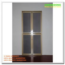 Aluminum bi fold door bi folding door screen door