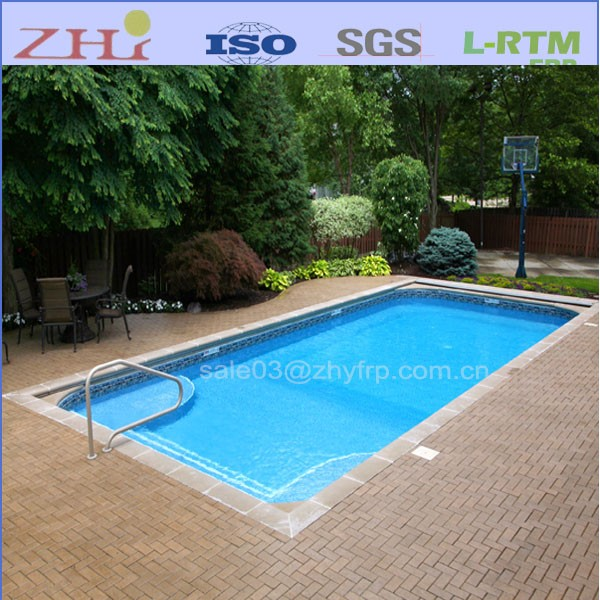One Piece Frp Fibreglass Swimming Pool Buy Fibreglass Swimming Pool Fiberglass