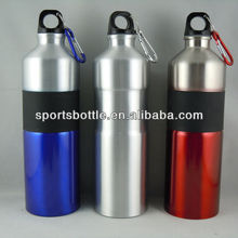 gift drinking aluminum bottle with carabiner
