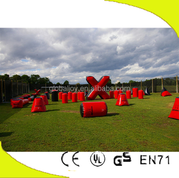 Wholesale inflatable paintbal/paintballs machine/bunker