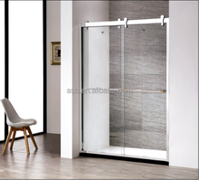 304 stainless steel 8mm Tempered Glass bathroom smart panel shower