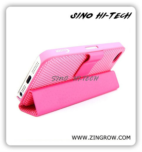 2013 Newest Case for iPhone 5 - Leather Case