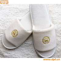 Terry Cotton Fabric Indoor Eva Sole Slippers from China supplier