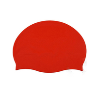 Promotional 100 Custom Silicone Swim Cap