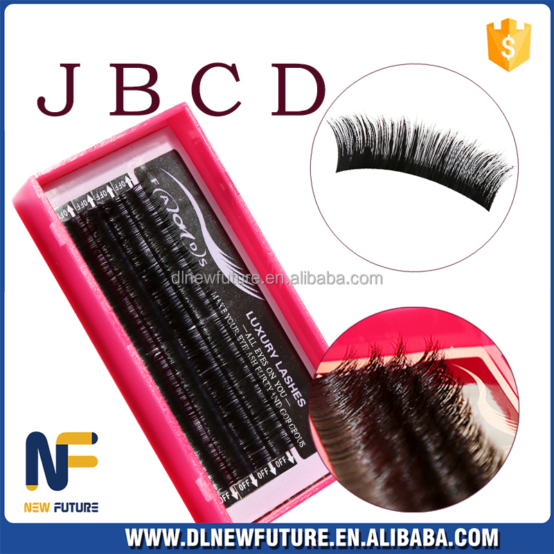 korean material factory price premium synthetic mink silk lashes