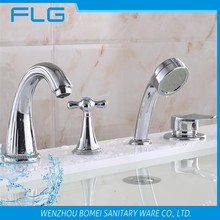 4 holes pull out upc basin tap drinking water faucet aqua faucet exquisite faucets 3 way stopcock