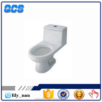 Hebei siphon one piece dual flush ceramic toilet