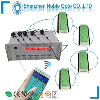 Intelligent wireless traffic light controller with software control by WLAN, LAN , GPRS internet