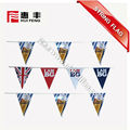 custom made hanging string flags bunting flags for advertising