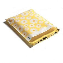 Poly Mailers Watercolor Designer Mailers Shipping Envelopes Yellow Custom Bags