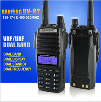 Two Way Radio BAOFENG UV82 UHF VHF dual band 8W most powerful walkie talkie