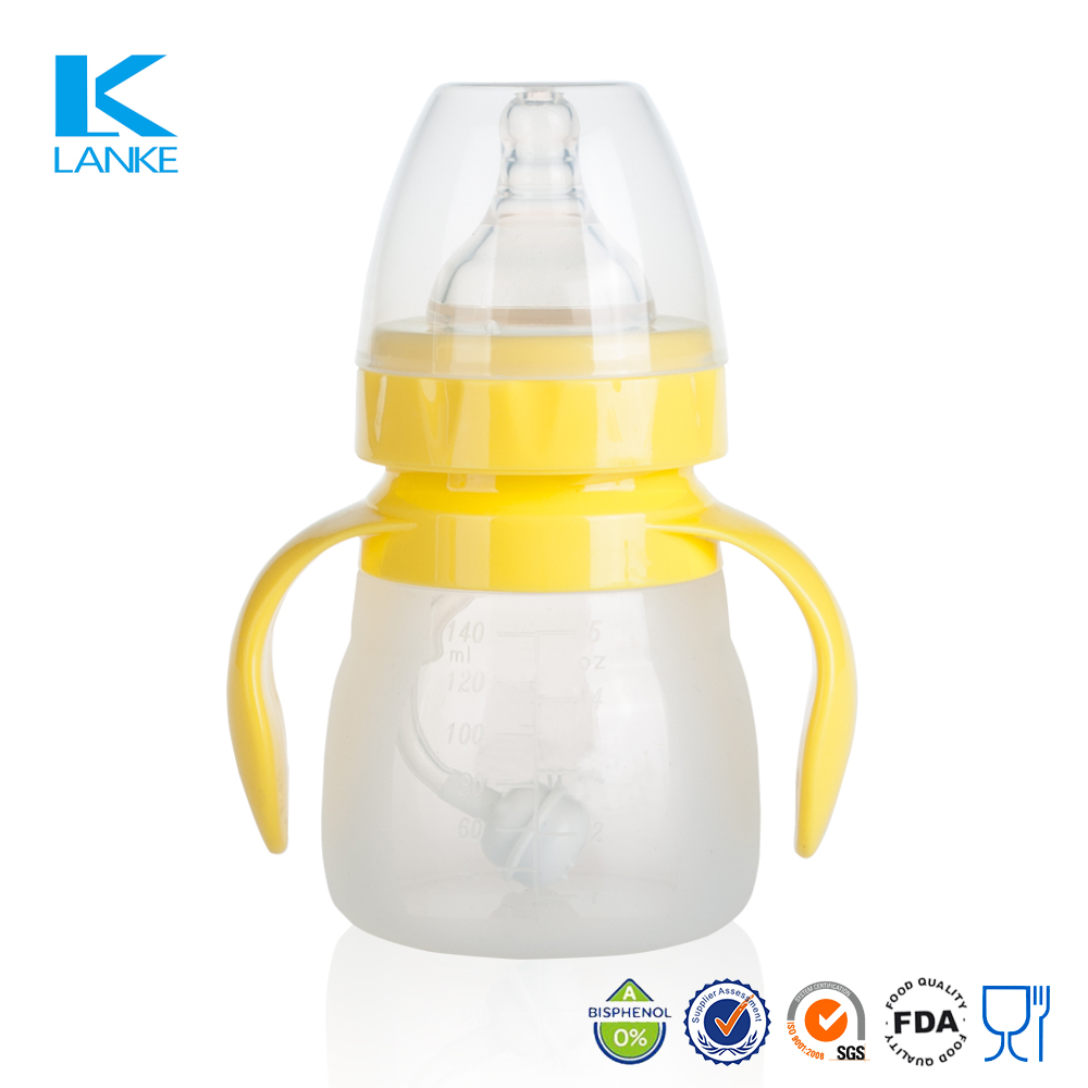 Baby Products Breastfeeding Silicone Feeding Bottle for Newborn Babies