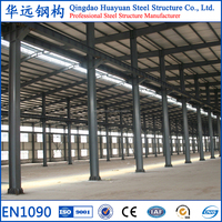 Turn key project light structure steel prefabricated construction building