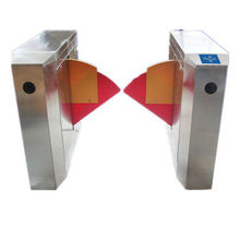 TCP/IP infrared sensor access control flap barrier with LED