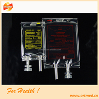 disposable infusion bag/blood infusion bagg /pvc iv infusion bag