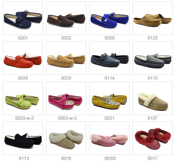 Suede leather moccasin casual shoes for men