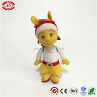 Girl and boy cute Nylon fabric stuffed cotton Alian toy baby doll