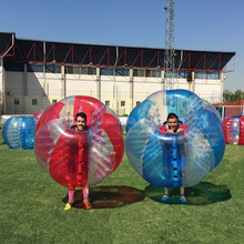 High quality PVC and TPU inflatable zorb soccer bubble football bumper ball for sale