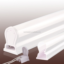 Led tube accessories led aluminum housing with pc cover T8 lampshade extrusion T5 light tube housing NM-5341-06 Factory