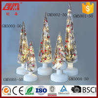 Primitivism lighted christmas cone tree