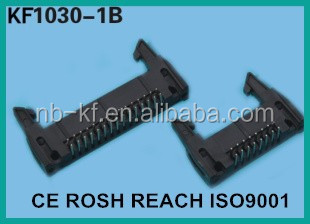 SHROUDED HEADER R/A 2.54MM BIG LATCH TYPE SQUARE PIN