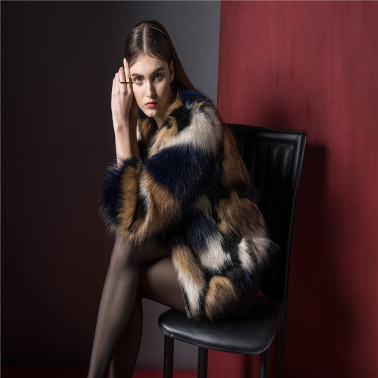 Hot Selling trendy style sheep fur coats woman wholesale