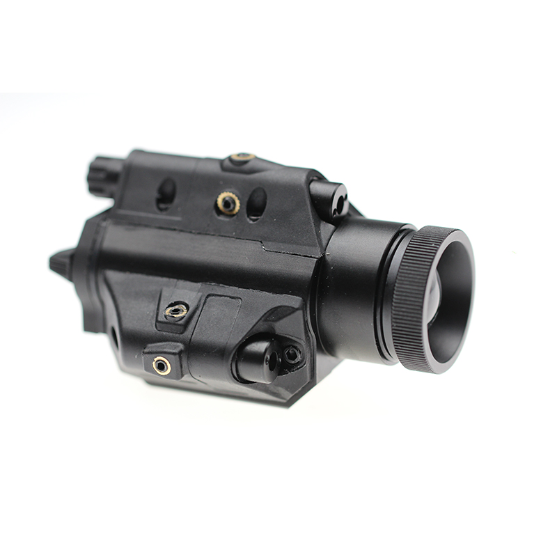 LS-2LF1 picatinny rail pistol double beam laser sight and weapon light