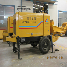 high quality small concrete pump has the output of 30 cubic meters per hour sale by factory with best price on alibaba