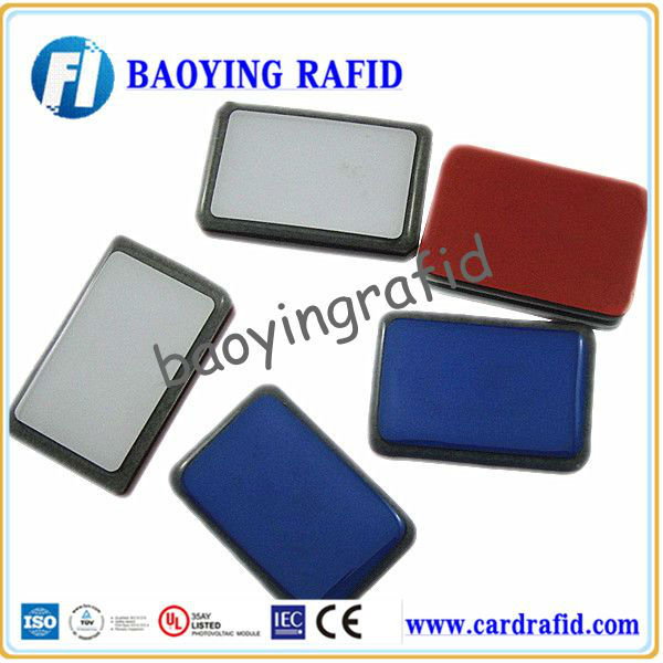 anti-metal RFID metal tag, rfid tag with 13.56 MHz and 125 KHz chip