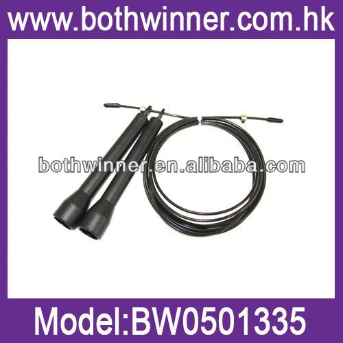 Crossfit adjustable cable speed jump rope BW074