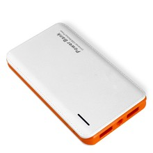 2.1A best quality polymer slim 10000mah external battery power bank for smartphone