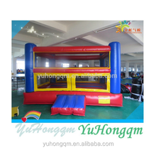 Combat Field Design Inflatable Jumping Bouncers With Slide For Kids Play